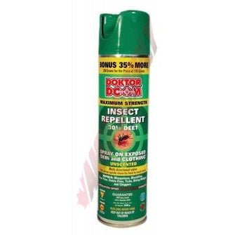 Doktor Doom Maximum Strength Mosquito Repellent 30% Deet, 230g