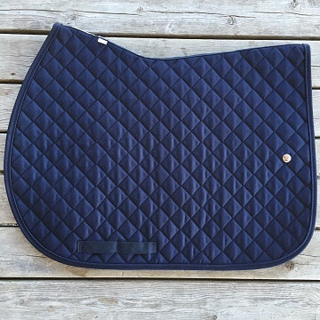 Ogilvy Jumper Profile Pad Navy with Navy Piping and Navy Binding