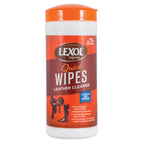 Lexol Quick Wipes Leather Cleaner 25