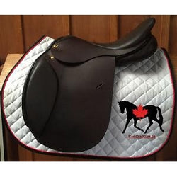 "Exselle Debut Close Contact Saddle 16.5"" Medium Tree Regular Flap"