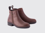 Dubarry Carlow Side Zip Ankle Boot - Mahogany