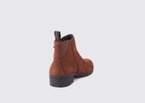Dubarry Carlow Side Zip Ankle Boot - Walnut