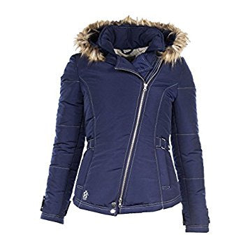 Horze Crescendo Marilyn Women's Padded Jacket US Large Dark Blue