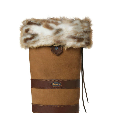 Dubarry Faux Fur Boot Liners - Lynx