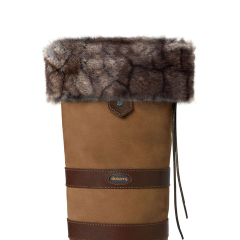 Dubarry Faux Fur Boot Liners - Elk
