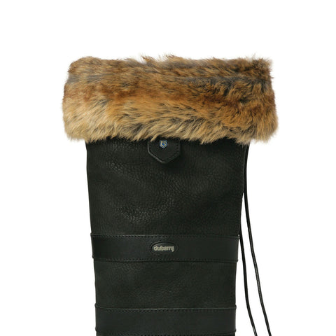Dubarry Faux Fur Boot Liners - Chinchilla