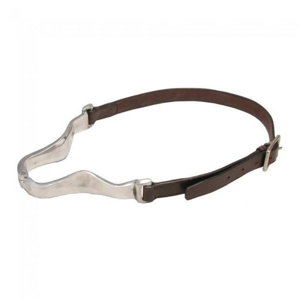 Cribbing Collar With Leather Strap