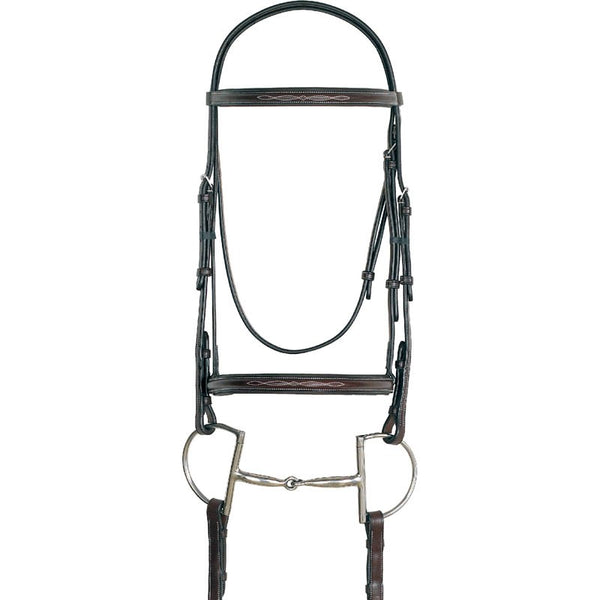 Sage Family Wide Padded Stitched Nose Band Bridle