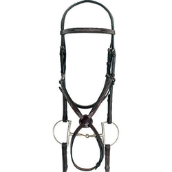 Sage Family English Figure 8 Bridle