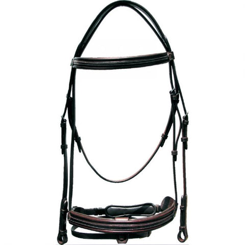Sage Family Bridle with Crank Noseband