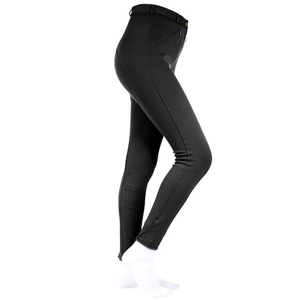 Horze Active Women Self Patch Beeches Black