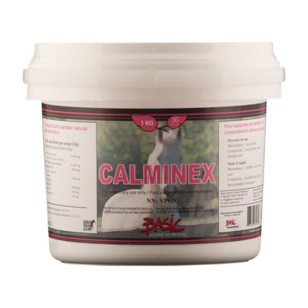 Basic Equine Nutrition Calminex 500Grams