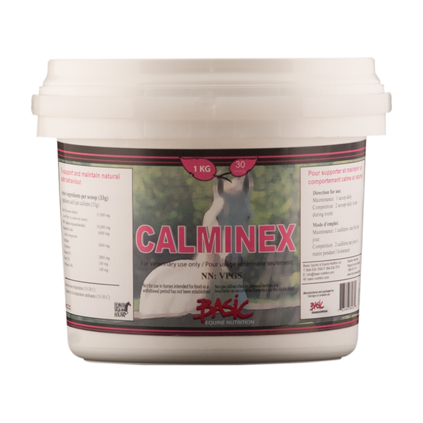 Basic Equine Nutrition Calminex 1KG