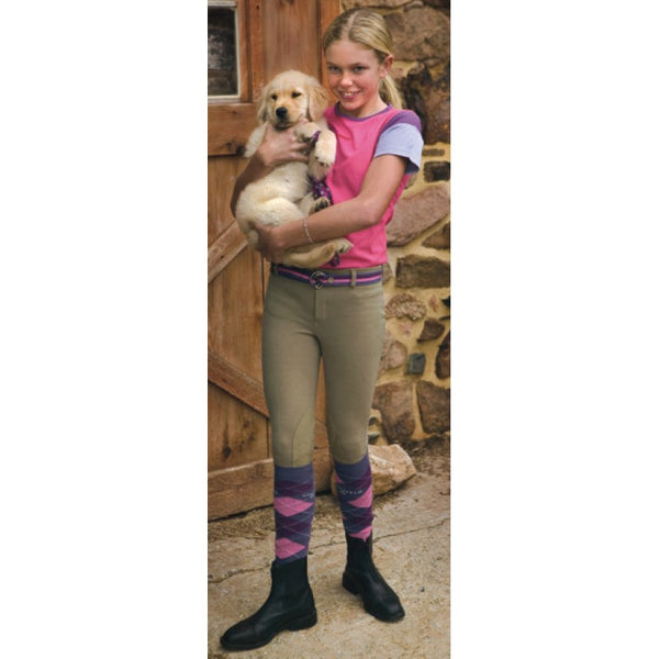 TUFFRIDER COTTON KIDS LOW RISE PULL-ON BREECH