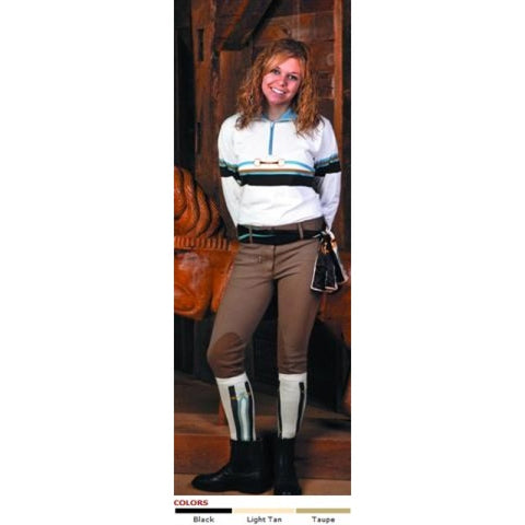 TUFFRIDER COTTON LOWRISE WIDE WAISTBAND BREECH, LONG