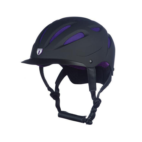 Tipperary Sportage Hybrid 8700 Helmet Black Purple