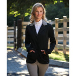 Arista Modern Hunter Jacket Grey with Black Suede Colar Large Tall