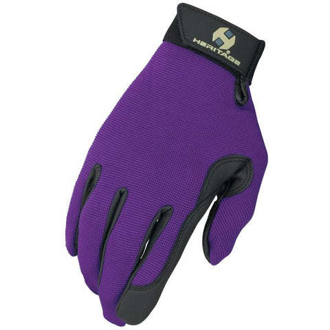 Heritage Performance Glove Purple