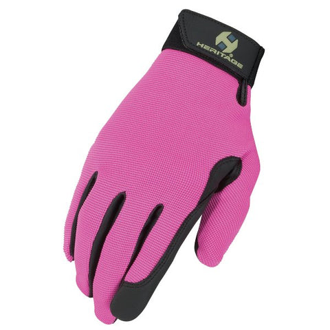 Heritage Performance Glove Pink