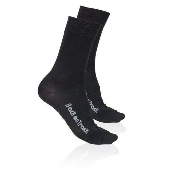 Back on Track Human Socks Black