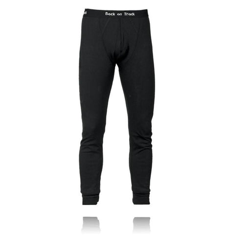 Back on Track Human Long Johns Man Black