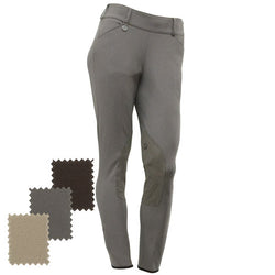 Pikeur® Victory Side Zip Knee-Patch Breech Safari