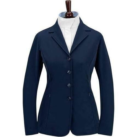 Grand Prix Soft Shell Quinn Show Coat Navy