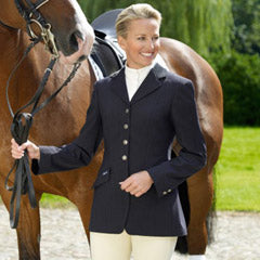 Pikeur Epsom Competition Ladies Show Jacket Navy with Pin Strips