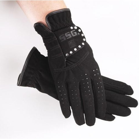 SSG® Grand Prix Gloves With Crystals Style 2000