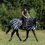 Bucas Buzz-Off Zebra Fly Sheet Full neck