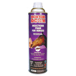 Doktor Doom Insecticide Foam for Horses 500 Grams