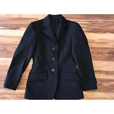 R.J. Classics Hampton Childrens Show Coat -H8116 Navy Size 06
