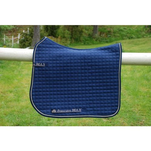Bucas Max Saddle Pad Dressage Navy