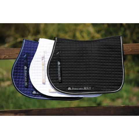 Bucas Max Saddle Pads Jumping A/P Navy/Silver