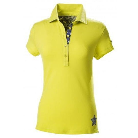 Pikeur Josi Polo Shirt for Women Lime