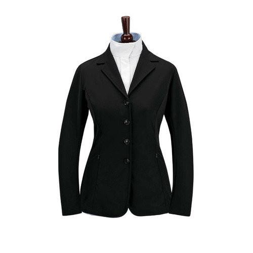 Grand Prix Soft Shell Quinn Show Coat Black