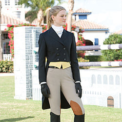 R.J. CLASSICS SHADBELLY SHOW COAT ESSENTIALS  SKU: 5600CA Black