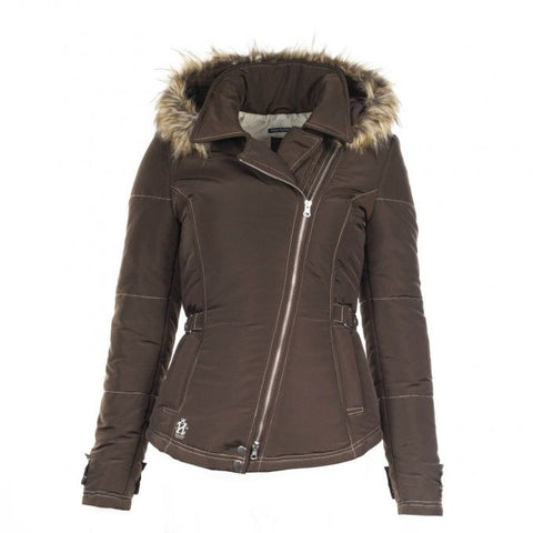 Horze Crescendo Marilyn Women's Padded Jacket Brown US Small