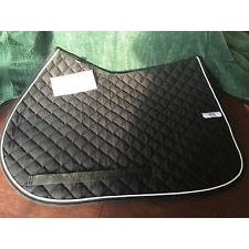 Ogilvy Jumper Profile Pad Black with White Piping