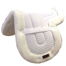 Exselle Fleece Bottom Quilted Shaped Close Contact Saddle Pad