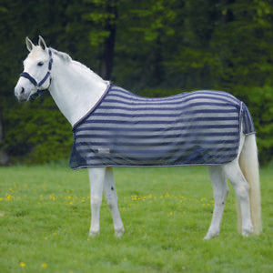 Waldhausen Fly Rug/Sheet With Front Closure - Lightweight And Cool