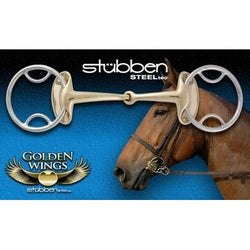 Stubben Steeltec Golden Wing Jointed Gag 4 in 1