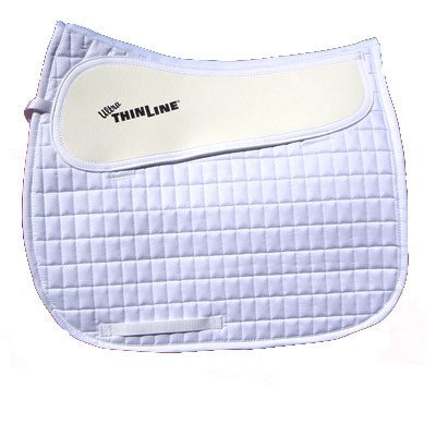 ThinLine Dressage Cotton Pad White