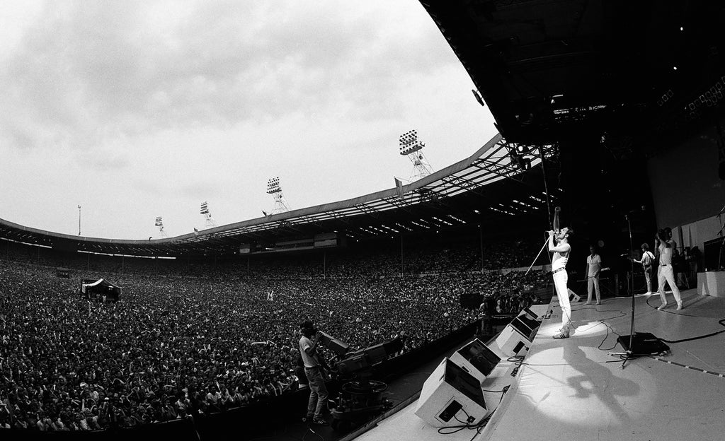 Queen, Live Aid, Wembley Stadium, England, 1986