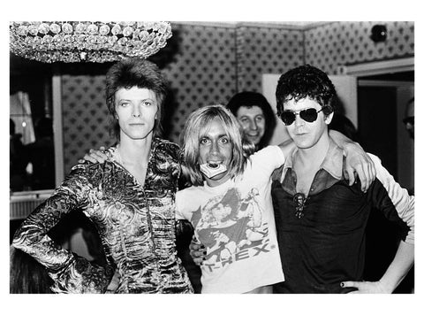 David Bowie, Iggy Pop, Lou Reed-1973