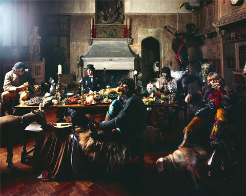 "Beggars Banquet ""Keith Orange"" 1968"