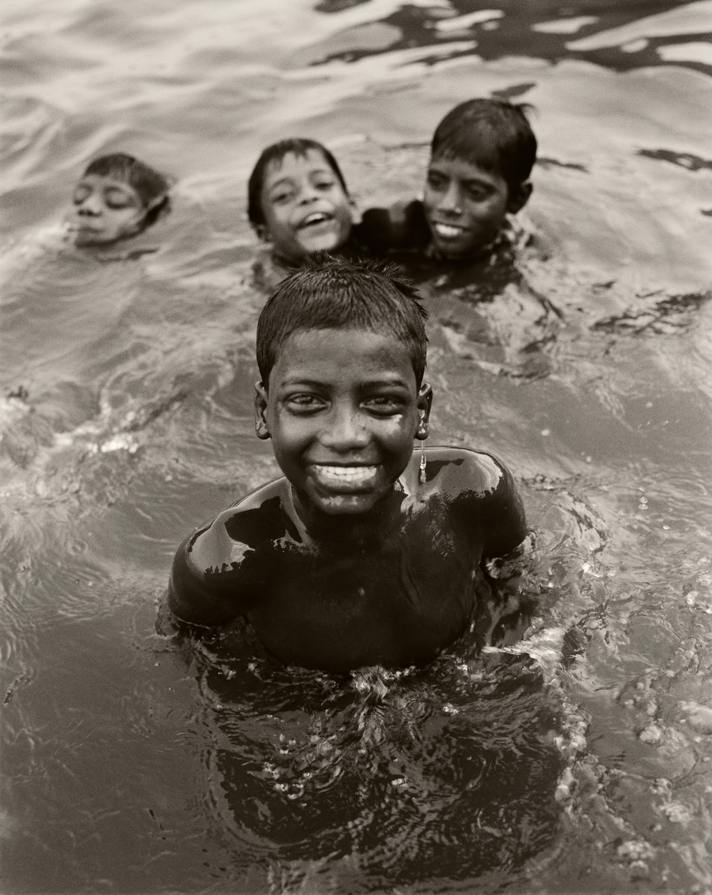 Boys in Ganges River, India 2