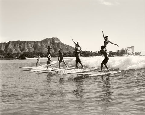 Surfing Diamond Head