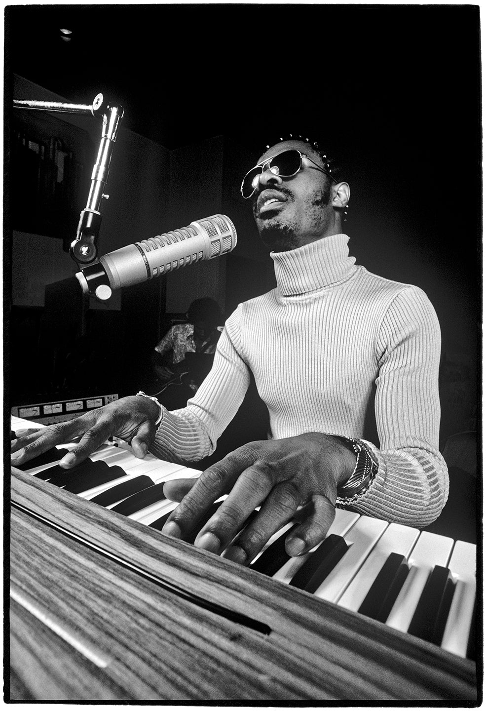 Stevie Wonder, Los Angeles, CA, 1974