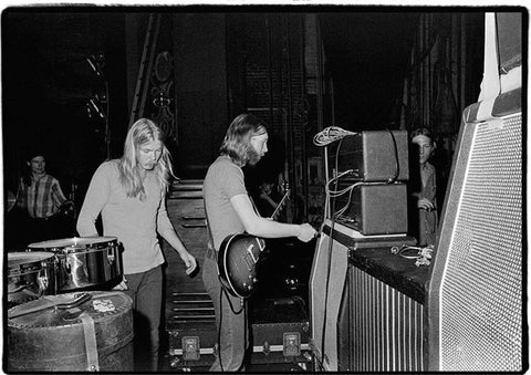 Duane Allman & Gregg Allman -Backstage at Fillmore East